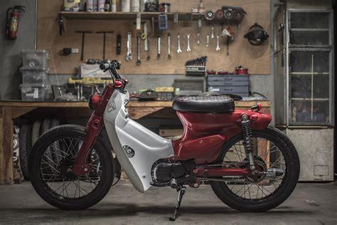 Honda C700 Cub honda cub by revolt cycles bikebound