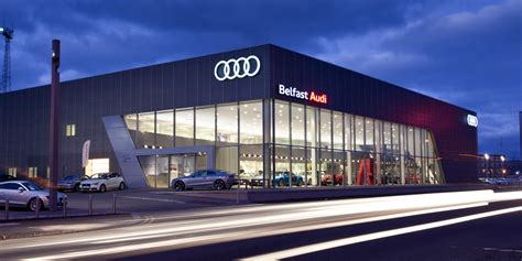 audi showroom audi belfast blackstaff architects ltd projects