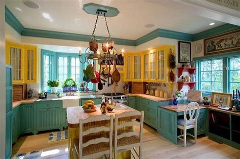 turquoise and yellow kitchen turquoise yellow kitchen cabinets kitchen