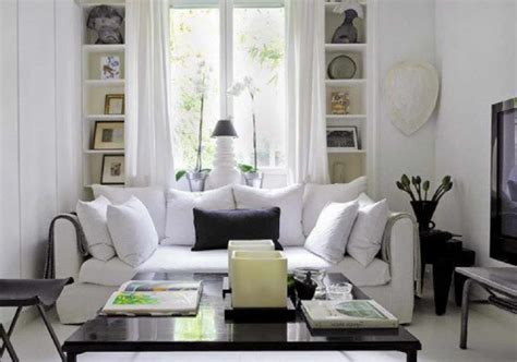 White Living Room by Black And White Living Room Decobizz