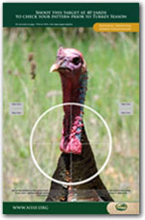 printable turkey target pdf still another source for free printable targets