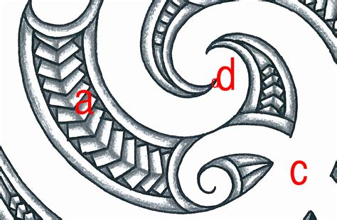 maori sleeve template with meanings included