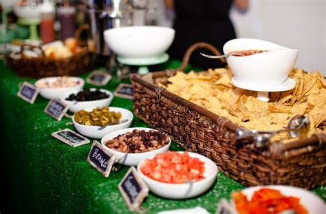 nacho bar topping ideas nacho bar wedding ideas pinterest