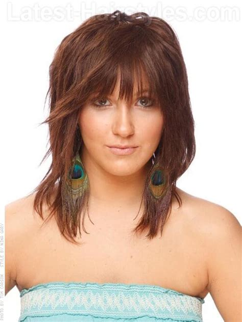 how to style razor haircuts medium choppy layered hairstyles choppy hairstyles are