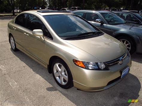 2008 borrego beige metallic honda civic ex sedan 49050800 gtcarlot car color galleries