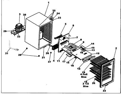 Danby Wine Cooler Parts Model Dwc283bls Sears Partsdirect