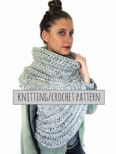 crochet pattern katniss cowl pattern for chunky knit crochet asymmetrical cowl vest