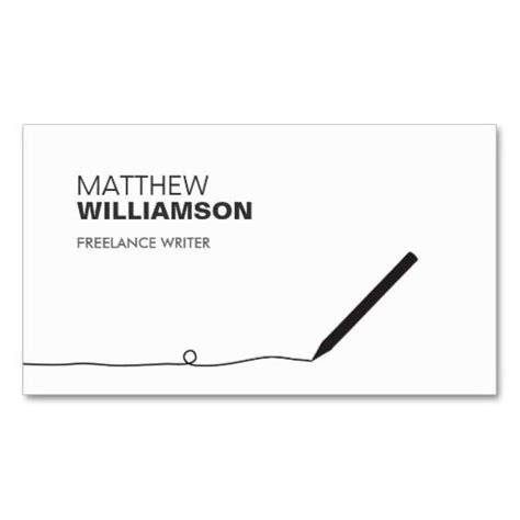 writer business card template 187 best images about writer business cards on