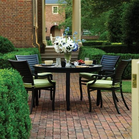 patio furniture palm palm outdoor dining patio furniture by summer classics