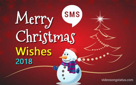 merry christmas wishes sms  bii  emojic video song status