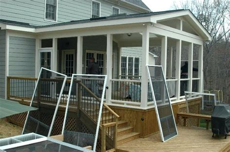 screened porch makeover rough concrete floor small screened in porch it guide me