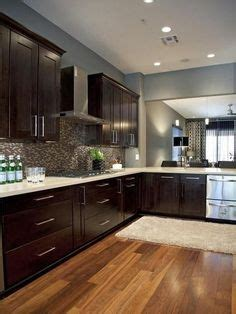 restaining oak cabinets future house pinterest a more modern look with oak cabinets stainless steel