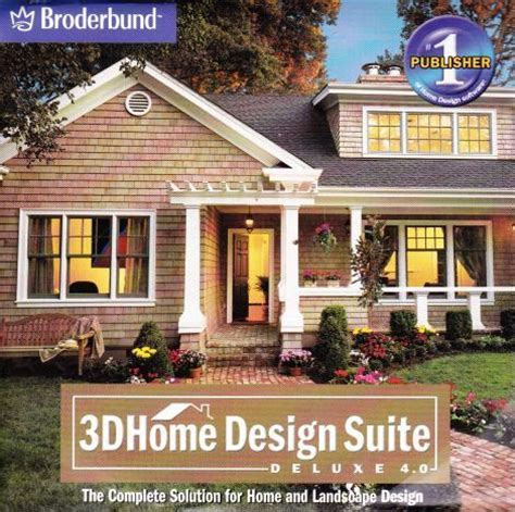 3d home design suite deluxe 4 0 pc cd 5 house tools 3d
