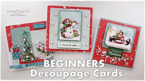 How To Do Decoupage Cards - easy decoupage cards trimcraft