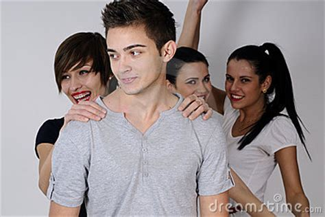 soap two girls and one boy three and one boy stock photos image 12801123