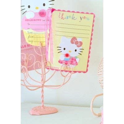 hello kitty java themes hello kitty invitation and thank you set 16ct for 20 00