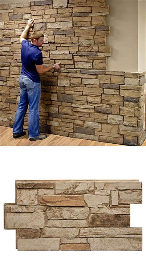 unlike real stone or cultured stone which require