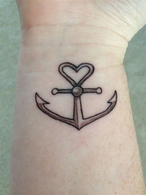 tattoo anchor love faith hope and love anchor wrist tattoo tattoos