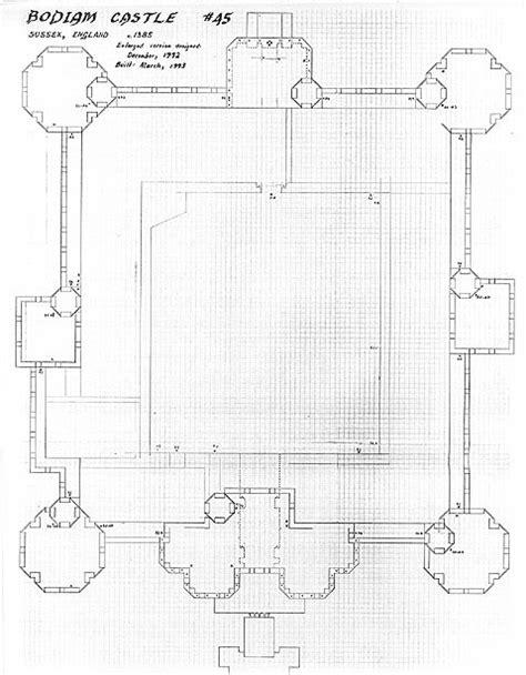 bodiam castle floor plan bodiam castle livesize