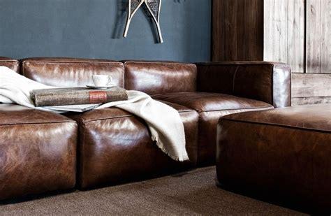 Wohnzimmer Einrichtungen 2706 by Bruine Lederen Zetel Exclusief Groot Formaat Kwaliteit
