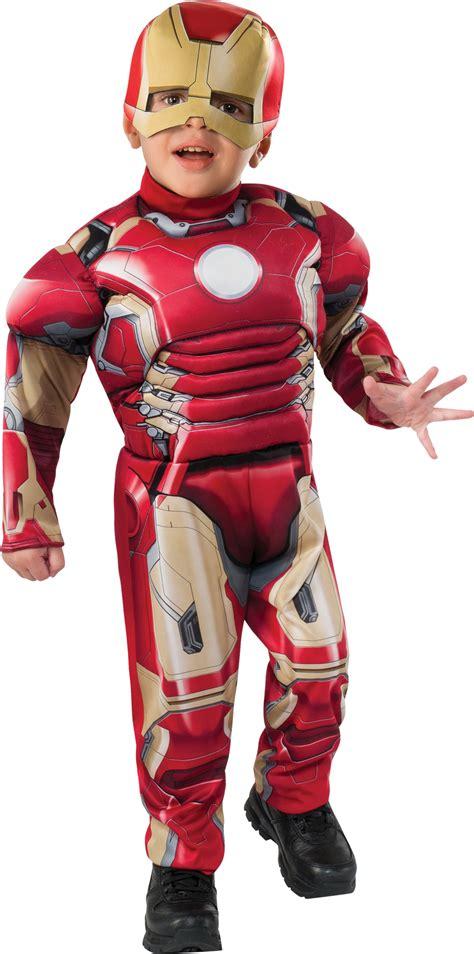 upc marvel comics padded iron man halloween