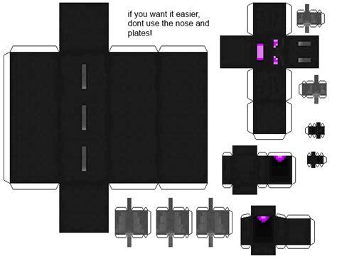 Ender Papercraft - papercraft bendable ender