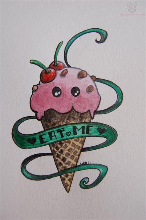 tattoo stencil cream 10 ice cream sundae tattoo