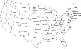 map of usa states black and white images