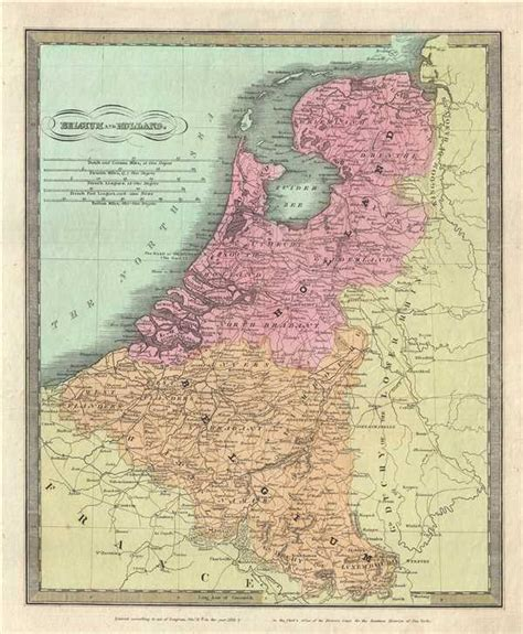 map of netherlands belgium and belgium and geographicus antique maps