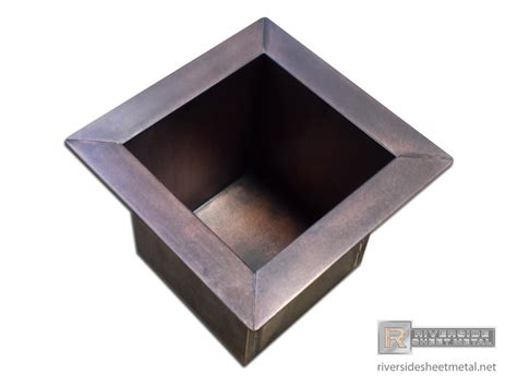 Planter Box Inserts by Copper Patina Metal Roofing Quotes