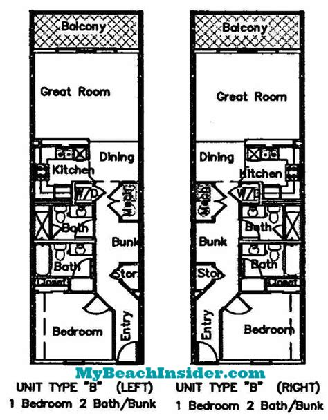 types of floor plans seychelles condominium floor plans panama city beach