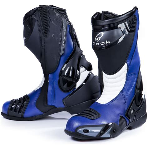 blue motorbike boots pin motorcycle race track street drag on pinterest