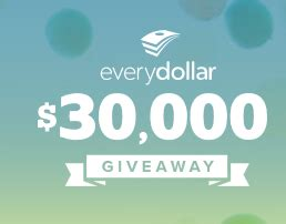 Dave Ramsey Sweepstakes - dave ramsey the everydollar 30 000 giveaway sweepstakes win 5 000