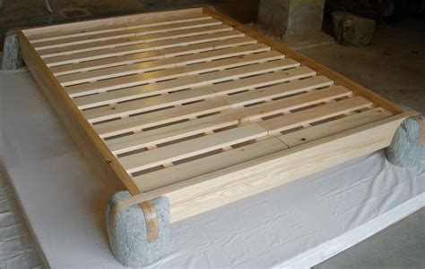 japanese style platform bed perennial stone