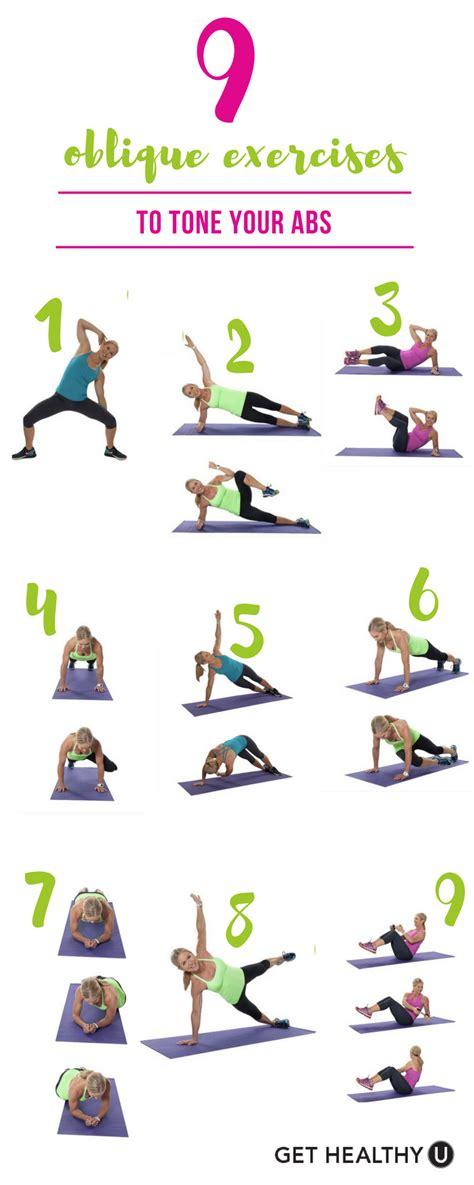 oblique exercises  tone  abs