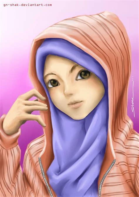 wallpaper girl muslimah muslimah by gn shak on deviantart