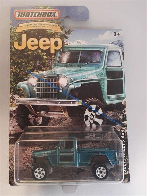 Matchbox Jeep 75th Anniversary Series Jeep Huricane Diecast 164 jeep willys 4 215 4 matchbox jeep 75th anniversary pg