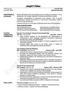 exle vice president resume cv resumes design