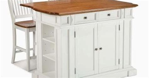 home styles americana black kitchen island with seating home styles americana white kitchen island with seating