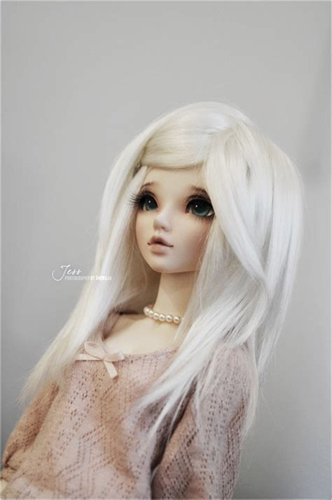 jointed doll white hair 167 best images about bjd dolls on tans what