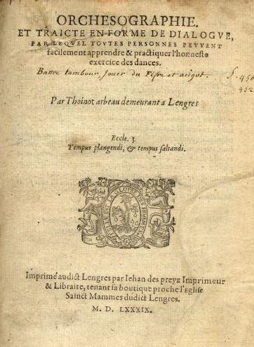 thoinot arbeau wikipedia