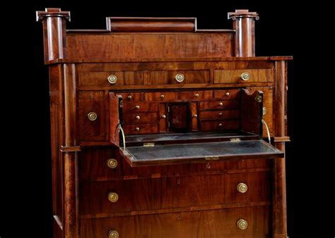 Furniture Consignment Shops In Ri by Rhode Island Empire Butler S Desk In Mahogany Circa 1825 For Sale At 1stdibs