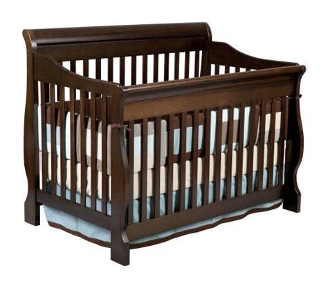 Delta Canton 4 In 1 Convertible Crib Espresso Cherry by Cribs Nursery Furniture Webnuggetz