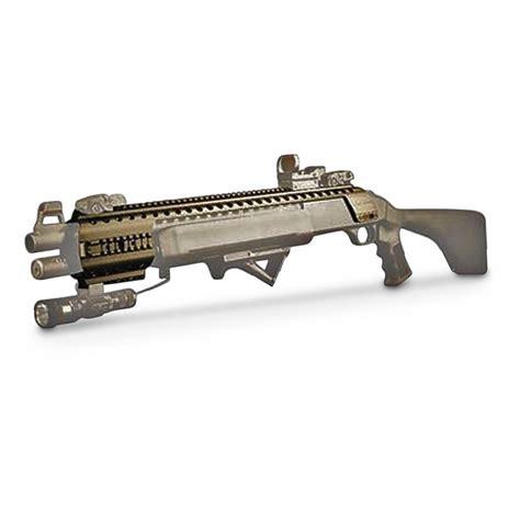 tactical accessory black aces tactical shotgun rail 625244 tactical rifle