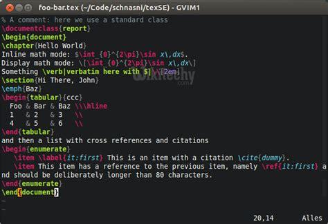 tutorial latex ubuntu latex editors ides by microsoft awarded mvp learn in