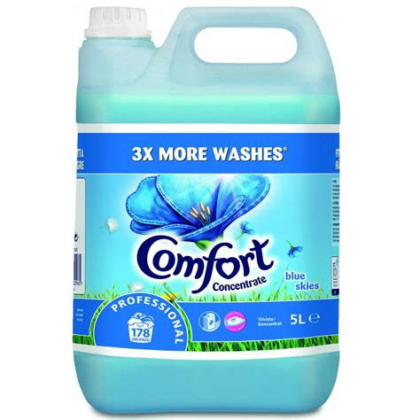 comfort professional comfort professional concentrated laundry softener 5l