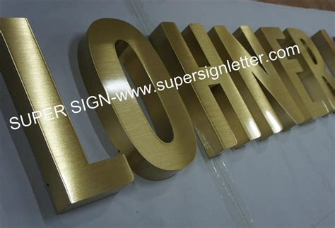 Custom Metal Letter metal sign letters led sign letters outdoor signs and