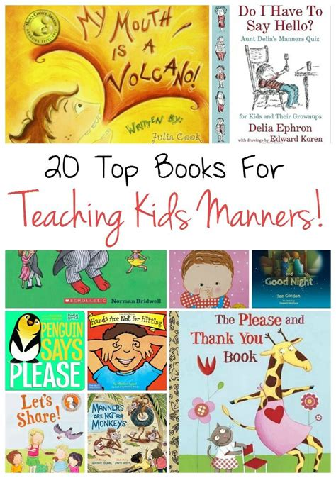 show me a picture book of best 25 teaching manners ideas on