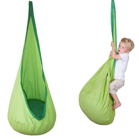 kids hammock swing newest children kids inflatable swing hammock pod indoor