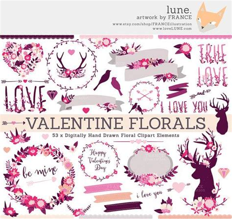 Wedding Banner Clipart by Clipart Wedding Wildflower Clipart Antlers